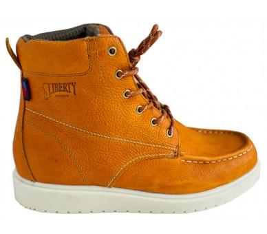 """GARY 6"""" kotníčkové topánky - medové"""