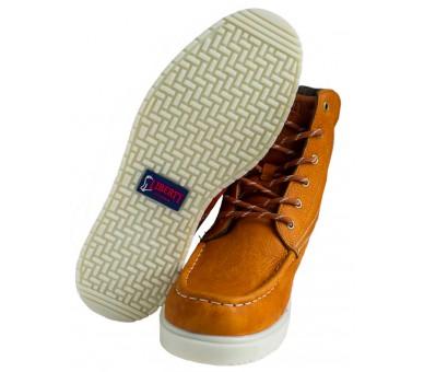 """GARY 6"""" kotníčkové boty - medové"""