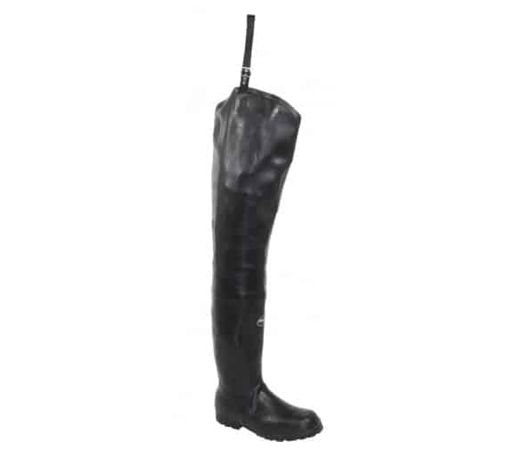 FISHERMAN Rubber boots black