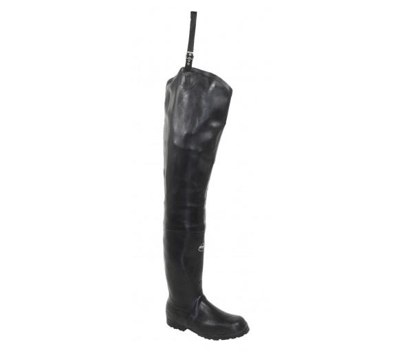 FISHERMAN gumová obuv pro rybáře černá