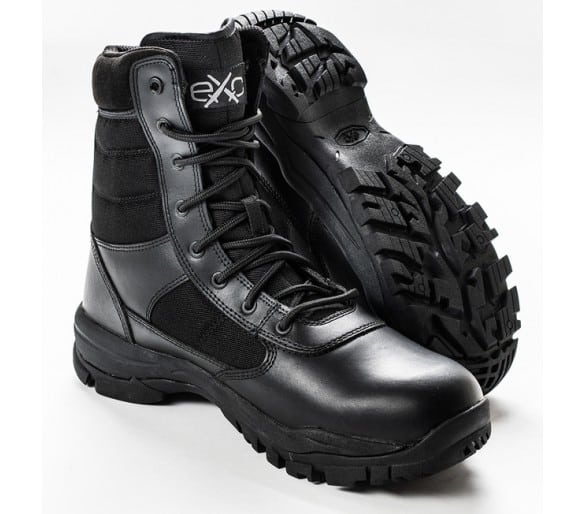 EXC Trooper 8.0 Black professional military and police boots