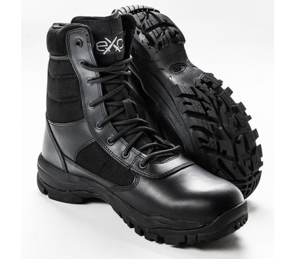 EXC Trooper 8.0 Black профессиональные военные и полицейские сапоги