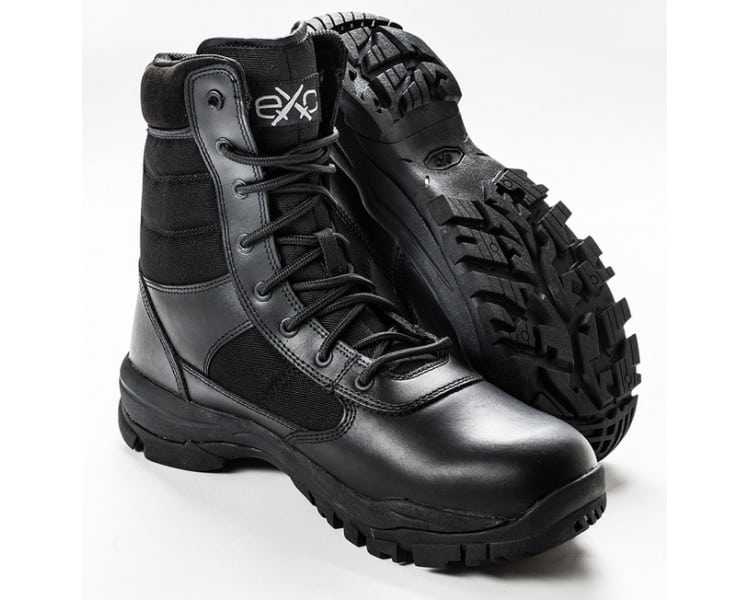 EXC Trooper 8.0 Botas militares e policiais profissionais pretas