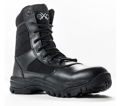 EXC Trooper 8.0 Schwarze professionelle Militär- und Polizeistiefel