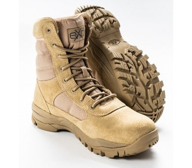 EXC Trooper 8.0 Desert Tan Professional Military and Police Shoes