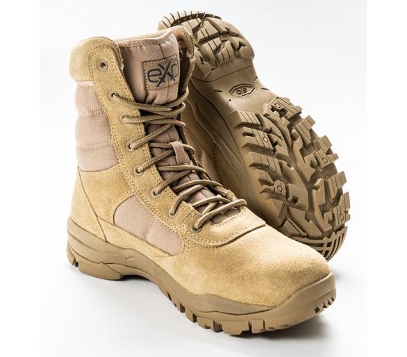 EXC Trooper 8.0 Desert Tan profesionální vojenská a policejní obuv