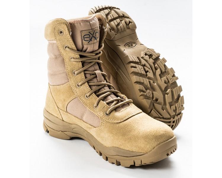 EXC Trooper 8.0 Desert Tan Professional Militar y zapatos de policía