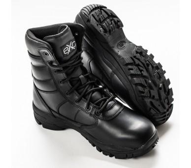 Calzado militar y policial profesional EXC Trooper 8.0 de cuero WP a prueba de agua