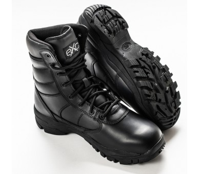 EXC Trooper 8,0 Couro WP Impermeável Profissional Militar e Polícia Sapatos