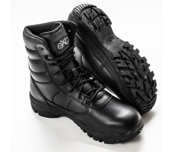 EXC Trooper 8.0 Leather WP Водонепроницаемая профессиональная военная и полицейская обувь