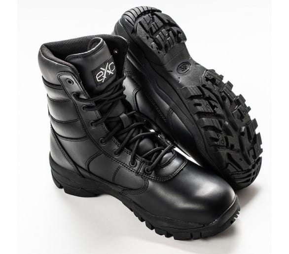 EXC Trooper 8.0 Leather WP waterproof professional military and police boots