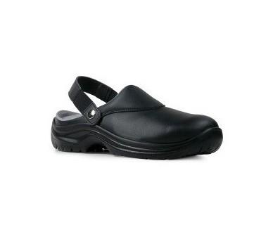 Garsport NEVADA Čierna pracovná obuv pre potravinárov a lekárstvo