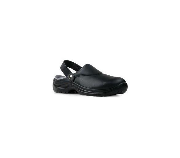Garsport NEVADA Sapatos pretos de trabalho para a indústria alimentícia e medicina