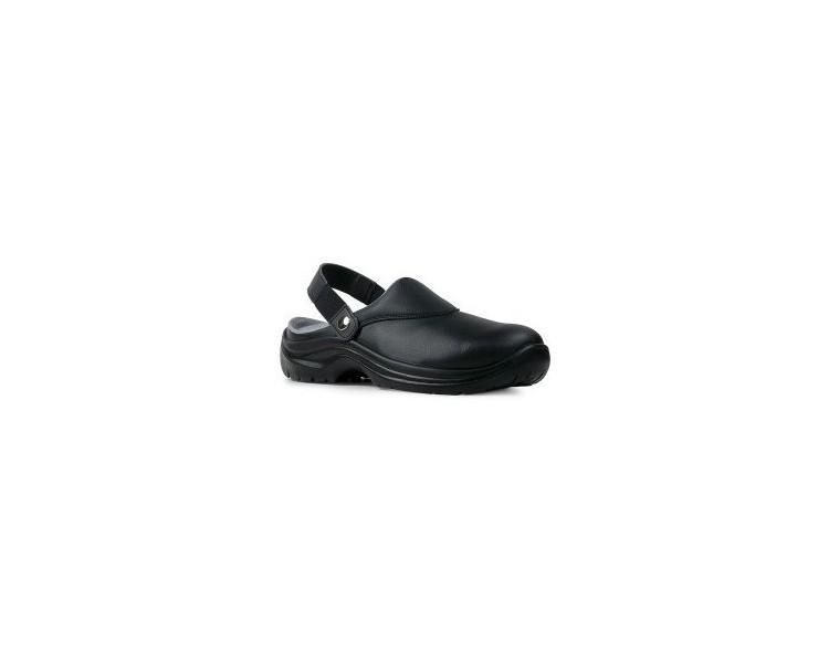 Garsport NEVADA Zapatos de trabajo negros para la industria alimentaria y la medicina.