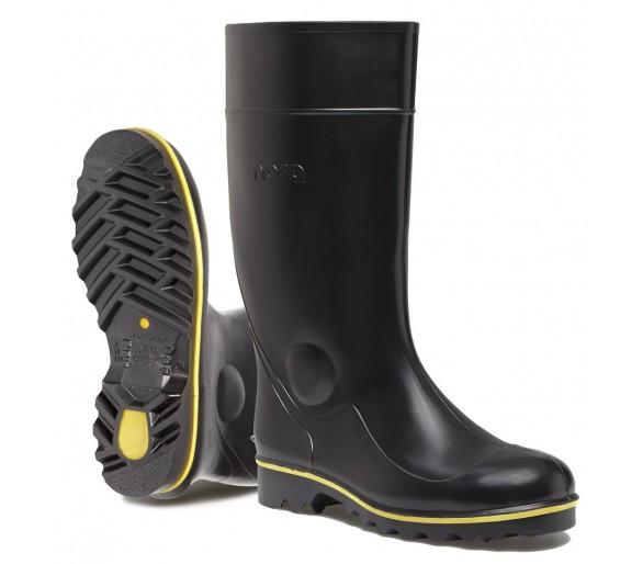 Nora JAN pracovní a bezpečnostní gumová obuv černá
