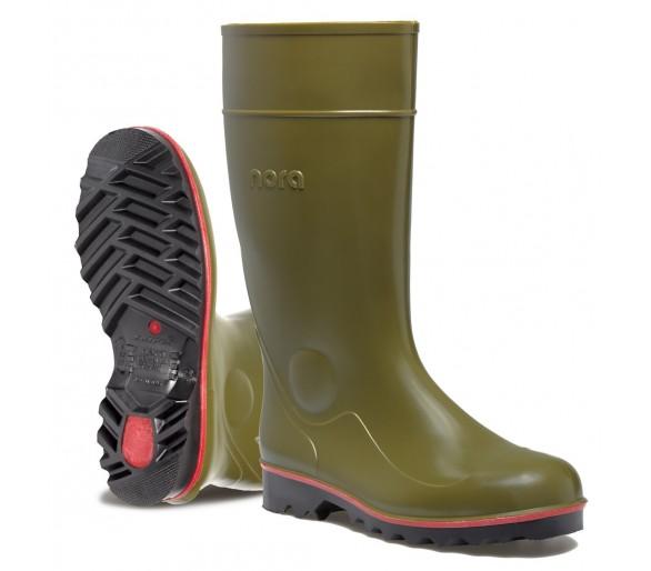 Nora MEGAJAN pracovní a bezpečnostní gumová obuv zelená