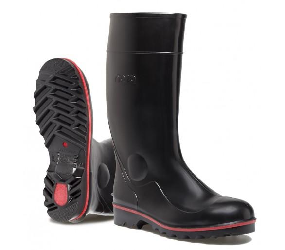 Nora MEGAJAN pracovní a bezpečnostní gumová obuv černá