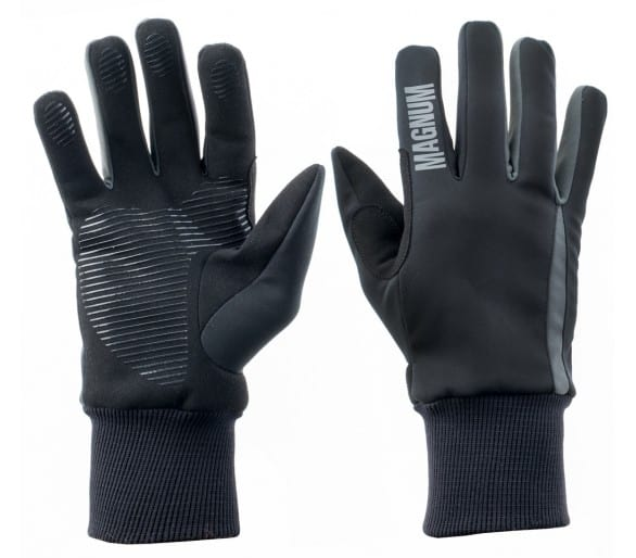 MAGNUM OWL black/gray gloves