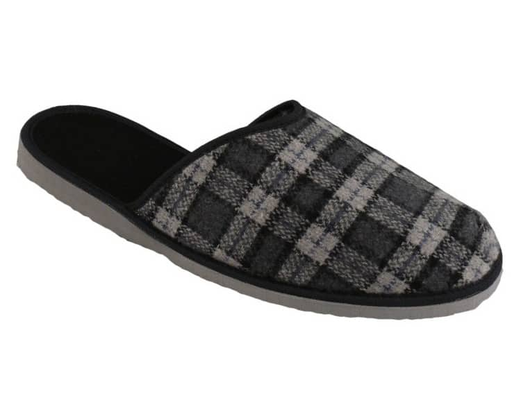Papuče nazúvacie bez päty pánske