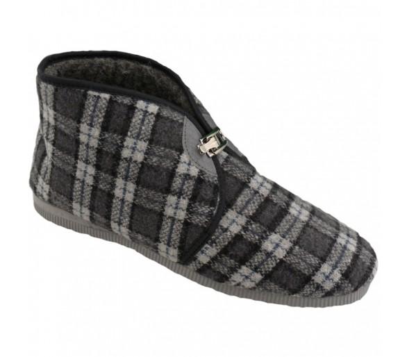 3013 Pánské pantofle zateplené na přezku