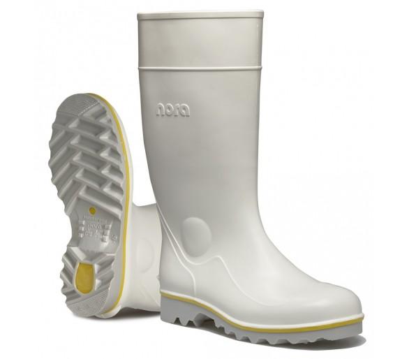نورا رالف أحذية مطاطية بيضاء