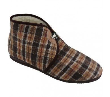Papuče na pracku zateplené pánske