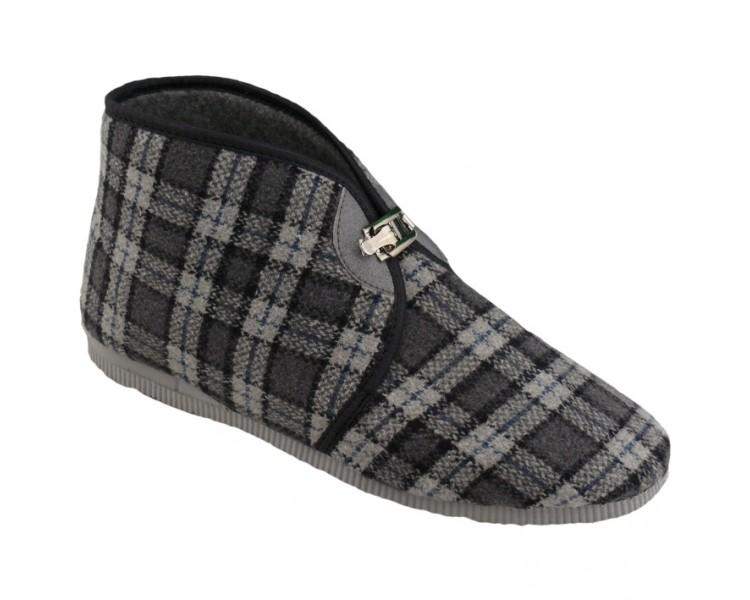 Zapatillas de hebilla de hombre