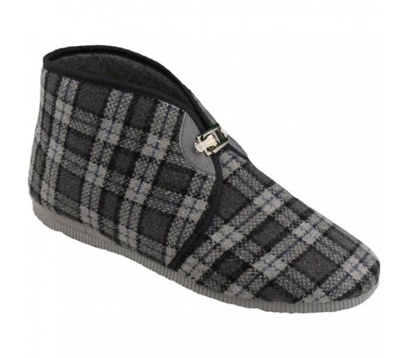 1013 Pánské pantofle na přezku