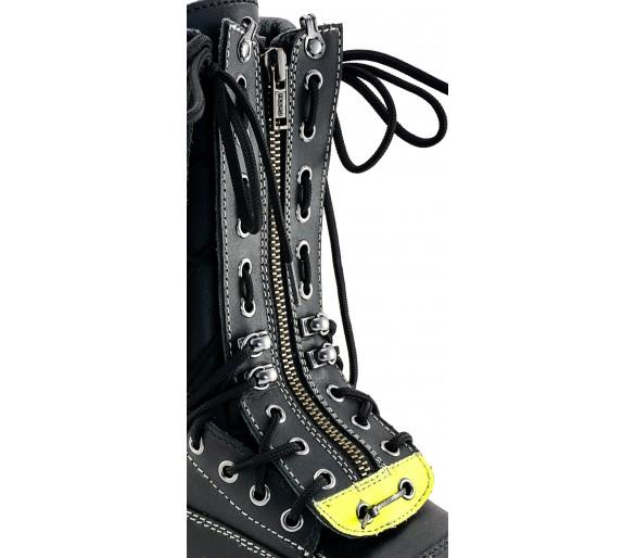 ZEMAN 412 DMS ZIP para calçado de incêndio e emergência