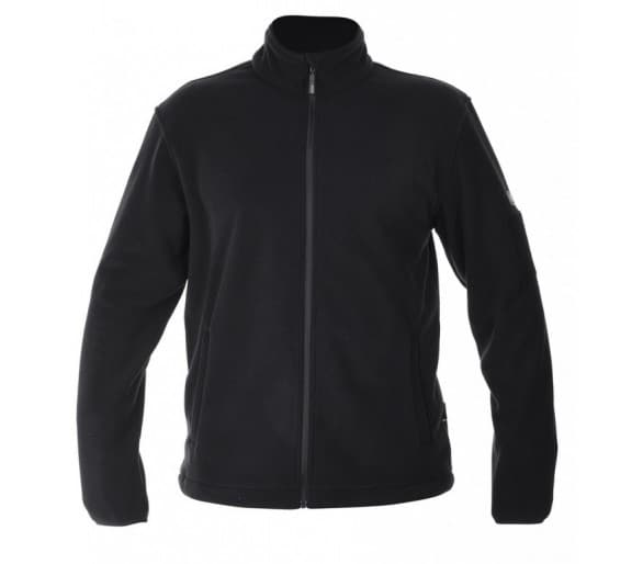 MAGNUM FLEECE čierna mikina - profesionálny vojenský a policajný oblek