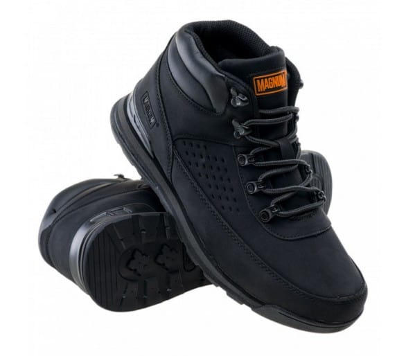 MAGNUM Cedari Mid Black Leisure Shoes