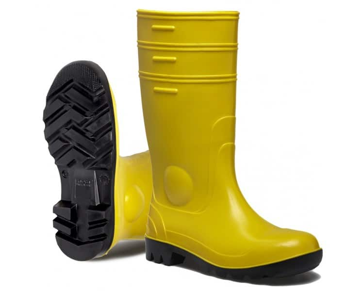 Nora GOREX YELLOW working and safety rubber boots