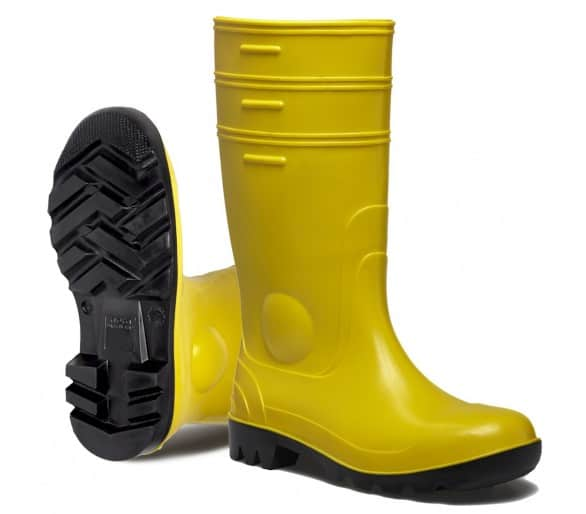 GOREX YELLOW de trabalho e botas de borracha de segurança