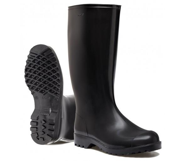 Nora ANTON pracovní a bezpečnostní gumová obuv černá