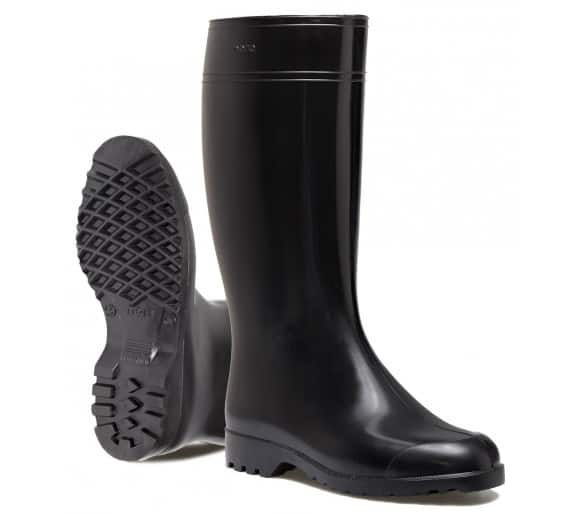Nora ANTONIA dámská pracovní a bezpečnostní gumová obuv černá