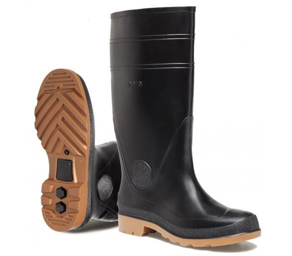 Nora COMO pracovní gumová obuv černá