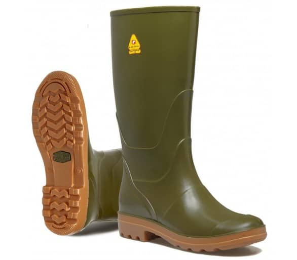 Rontani COUNTRY robocze gumowe buty zielone