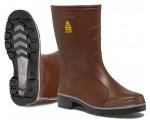 Stivali in gomma da lavoro e sicurezza Rontani FARM marroni