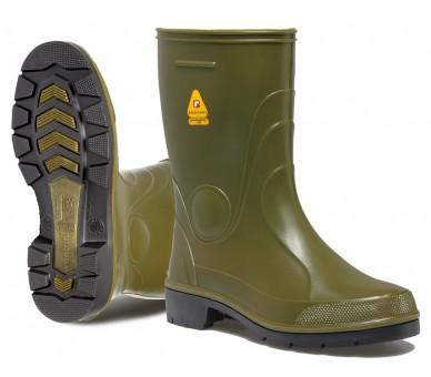 Pracovní a bezpečnostní gumové boty Rontani FARM zelené