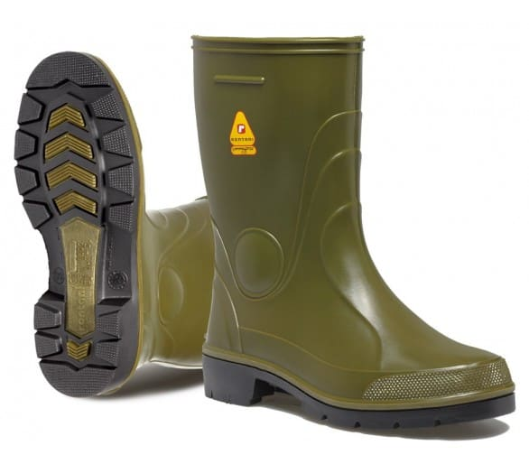 Rontani FARM Working rubber low boots green