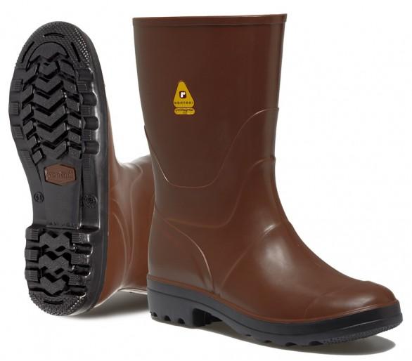 Rontani FOREST pracovní gumová obuv hnědá