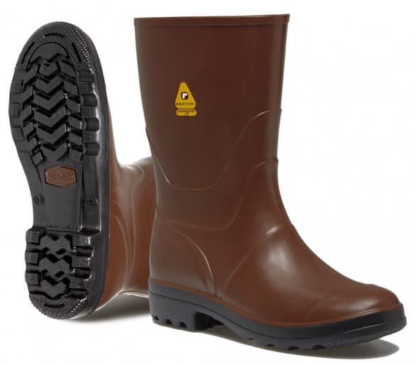 Rontani FOREST Working rubber low boots brown