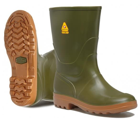 Rontani FOREST Working rubber low boots green