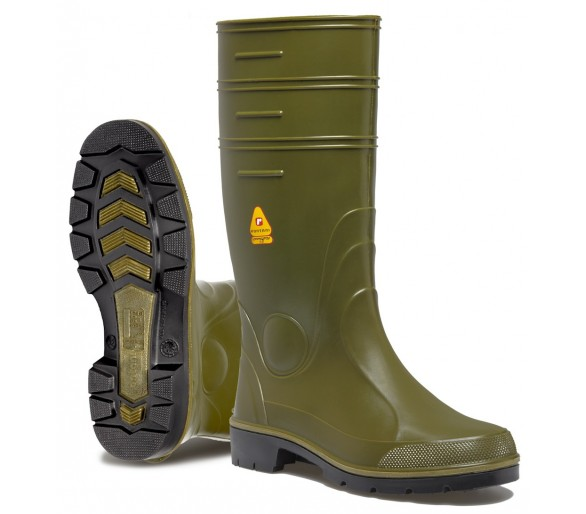 Rontani WINNER pracovní gumová obuv zelená