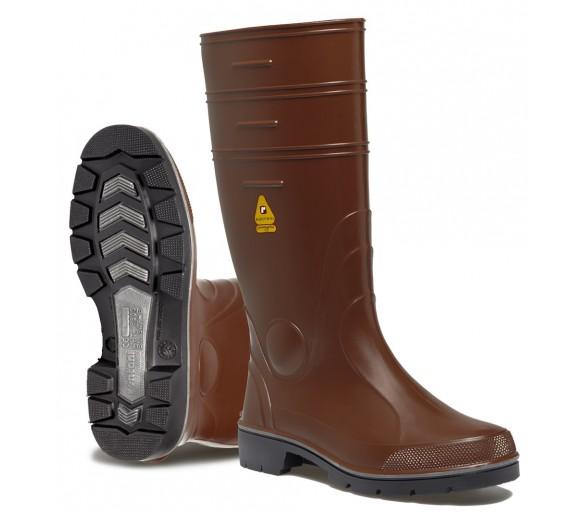Rontani WINNER pracovní a bezpečnostní gumová obuv hnědá