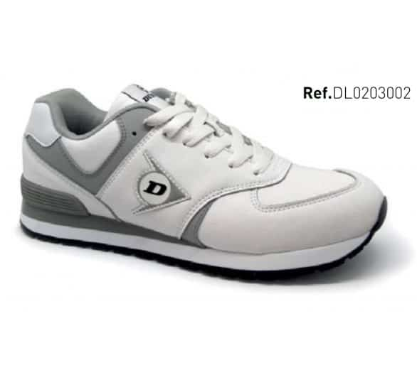DUNLOP Flying Wing White leisure and work shoes