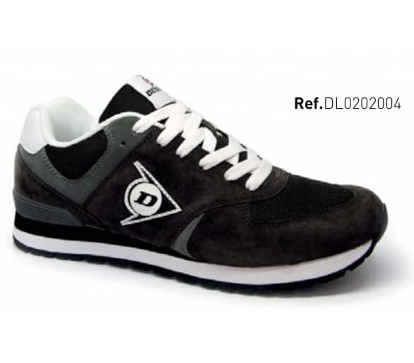 DUNLOP Flying Wing Charcoal zapatos de ocio y de trabajo