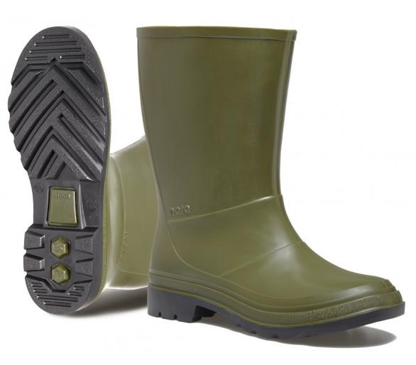 Nora ISEO pracovní gumová obuv zelená