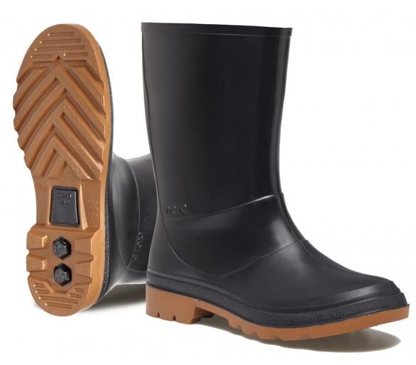 Nora ISEO pracovní gumová obuv černá