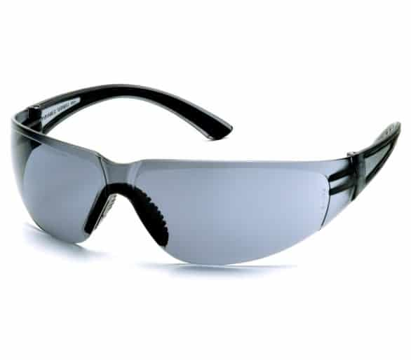 Cortez ESB3620S, ochranné brýle, černé stranice, šedé